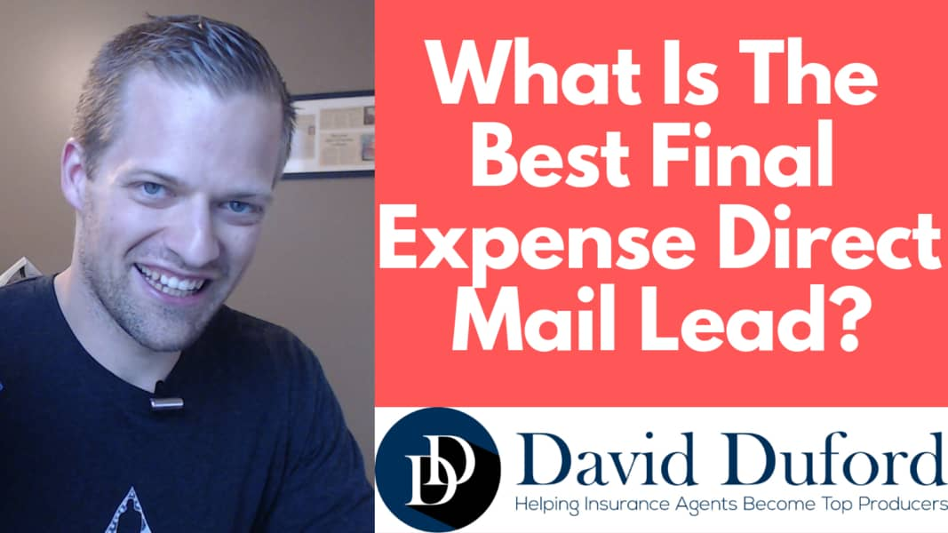 What is the best final expense direct mailer lead?